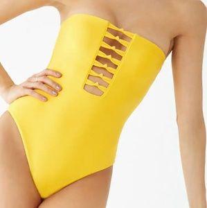 Forever 21 tube swimsuit